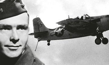 Watch A Marine WWII Ace Describe Downing 7 Japanese Bombers On His First Combat Patrol