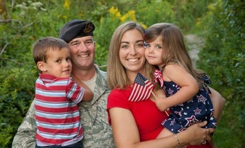 How A Neighborhood Pulled Together To Help A Family Cope With Deployment