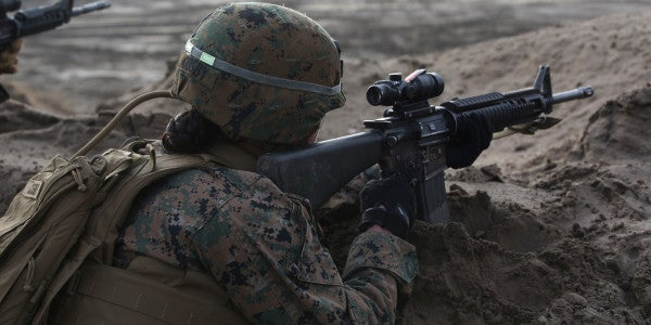 Corps Receives Its First Request from Female Marine To Join Infantry