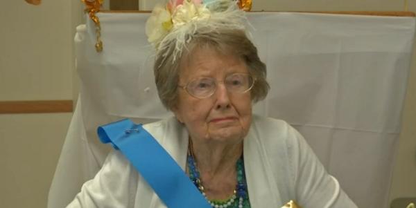 Watch This Marine Vet Celebrate Her 100th Birthday Like A Boss