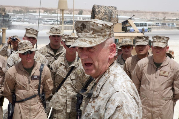 Mattis Wants You To Know He's Not Running For President