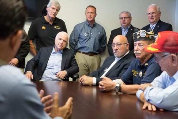 MCCAIN: Here's My Plan To Reform The VA
