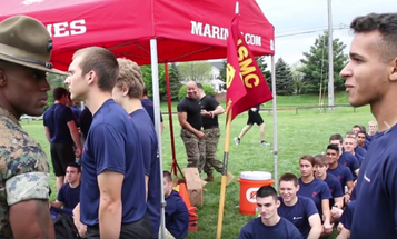 See What Happens When A Poolee Asks A Marine Drill Instructor, 'What's Up?'