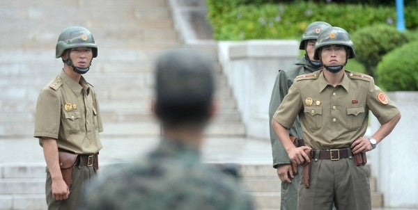 North Korea Whines About US Troops Making Faces At Its Border Guards
