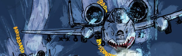 COMIC: These A-10 Pilots Heroically Rescued 6 Surrounded Marines