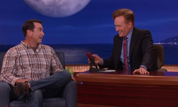 Rob Riggle Channels His Inner Mattis On Conan's Late Night Show