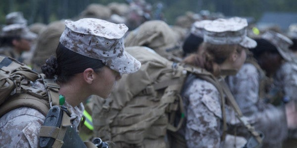 The Marine Corps Just Approved The First 2 Women For Infantry Positions