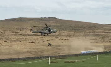 Helicopter Decimates Porta-Potties, Causes Literal Sh*t Show