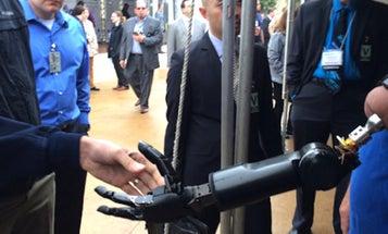 Meet the Man With The 'Luke Skywalker' Prosthetic Arm