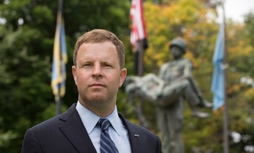 In His Run For Congress, This Iraq War Vet Isn't Running From PTSD