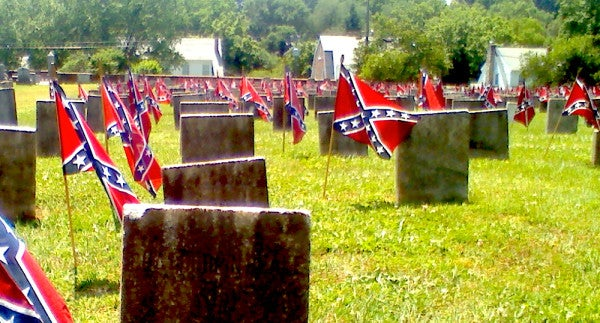 Congress Approves Ban On Confederate Flags In VA Cemeteries