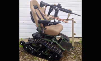 These Tank-Inspired, Off-Road Wheelchairs Are Built For Wounded Warriors