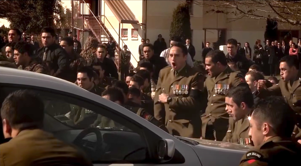 Watch New Zealand Infantrymen Honor Fallen Troops With This Ancestral War Cry
