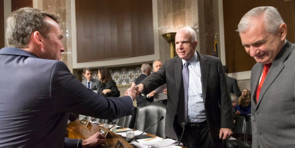 How John McCain Cleared The Way For The First Openly Gay Service Secretary