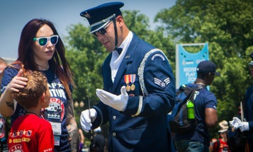 Children Of Fallen Troops Come To DC To Heal And Play