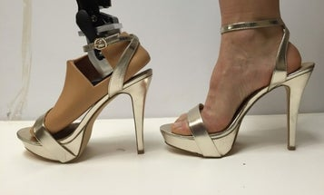 This New Prosthetic Lets Amputees Wear High Heels