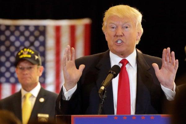 Trump Attempts To Set Record Straight On Veteran Fundraising