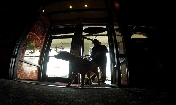 Veterans With Service Dogs Know Someone Always Has Their Back