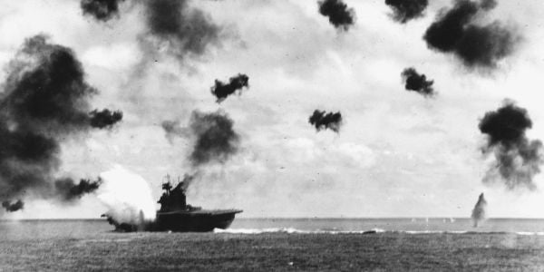 It's Been 74 Years Since The Greatest Naval Battle In American History