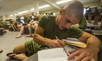 'Get Me The F**k Off This Island,' Reads Letter From Parris Island Marine
