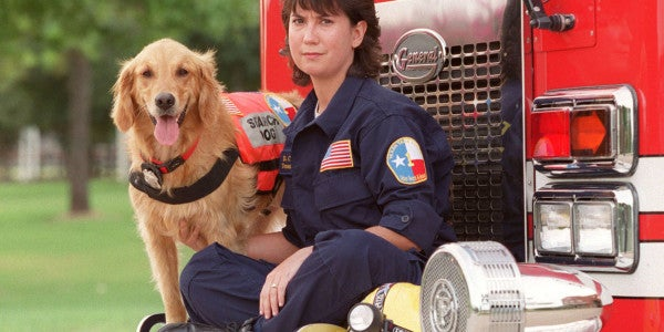The Last Living 9/11 Search Dog Receives Final Salute Before Her Passing
