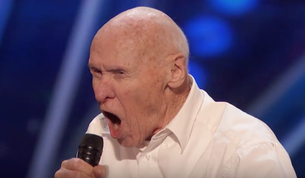 82-Year-Old Navy Vet Sings Drowning Pool's 'Bodies' On TV Show, Chaos Ensues