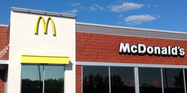 Gunmen Try To Rob McDonald's Where Special Forces Are Eating
