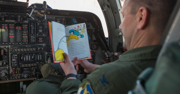 The Air Force Easily Has The Best Reading List Of All The Branches