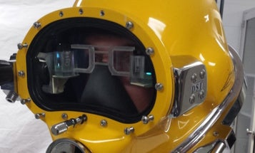 Check Out The Navy's New 'Ironman' Diving Helmets