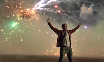 Here's What Happens When You Set Off 5000 Fireworks At Once