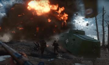 Tanks, Zeppelins, Bayonets. New Battlefield 1 Trailer Has It All