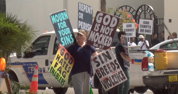 Westboro Baptist Church Shifts From Protesting Military Funerals To Terror Victims