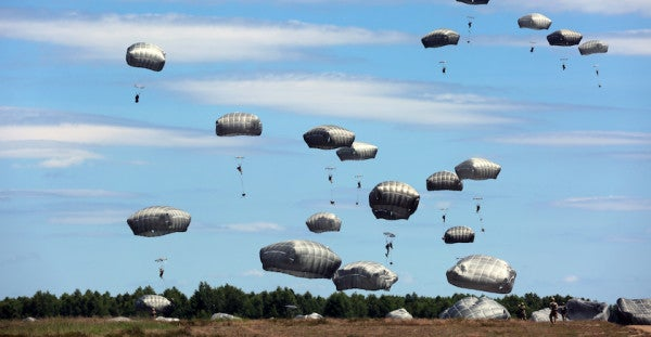 Paratrooper's Quick Response To Chute Malfunction Saves His Life
