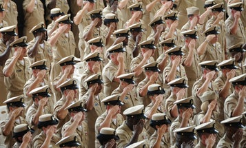 Navy Will Hire Civilians As Chiefs And Captains Out Of Boot Camp
