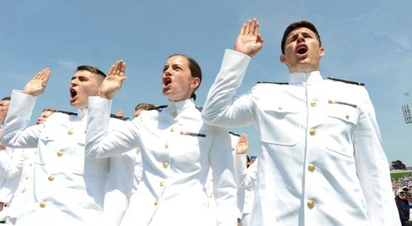 Hey Navy: Here's One Tradition Women Actually Want To Keep