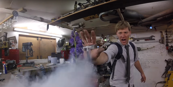 This Liquid Nitrogen Blaster Is Insanely Dangerous, But Awesome