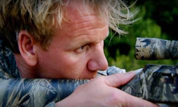 Fort Benning Soldier Takes Gordon Ramsay On Wild Hog Hunt