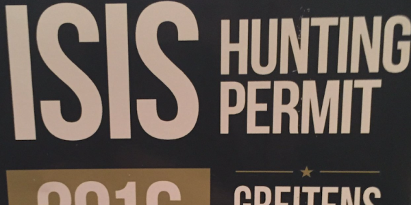 GOP Governor Candidate Is Selling Reasonably Priced 'ISIS Hunting Permits'