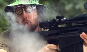 Hilarious Video Brings New Meaning To The Phrase 'Smoking Gun'