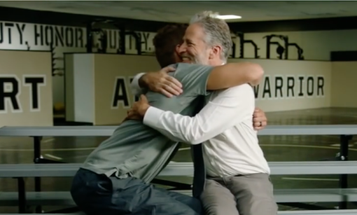Jon Stewart: Wounded Warriors Are 'Slightly Better Versions Of Us'