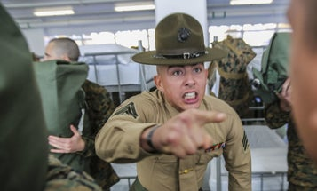 These Are The First Words Out Of Your Drill Instructor's Mouth