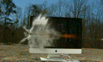 This Is What An Anti-Tank Rifle Does To An iMac
