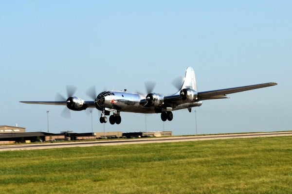 It Wasn't Easy, But B-29 Doc Takes To Skies After 60 Years