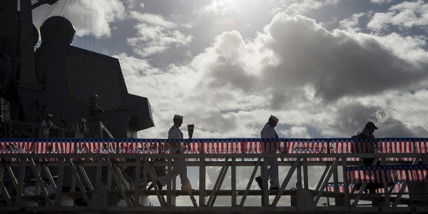 The Navy Wants DoD To Bring Back Extended Deployment Pay