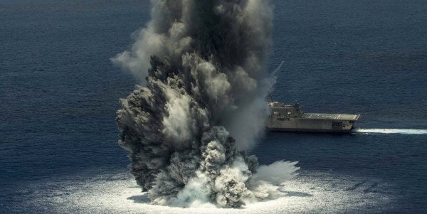'Earthquake' Off Florida Coast Was Actually Explosion Set Off By Navy