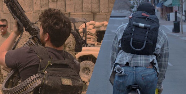 A Bag Made For War And The Chaos Of Everyday Life