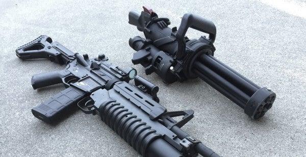 This Handheld Minigun Was Designed For Maximum Obliteration