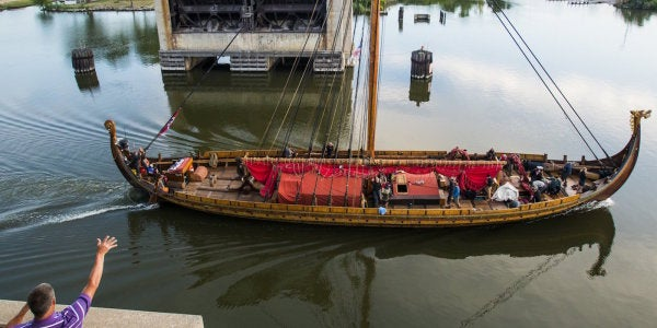 This Viking Warship Captain Is Not Happy With The US Coast Guard