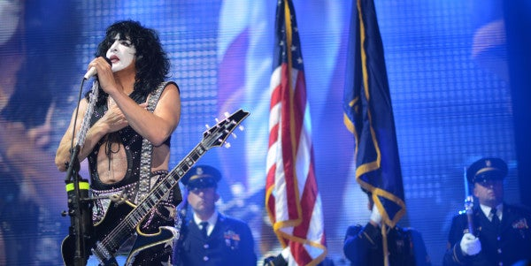 This Retired Air Force Vet Just Spent A Day As A KISS Roadie