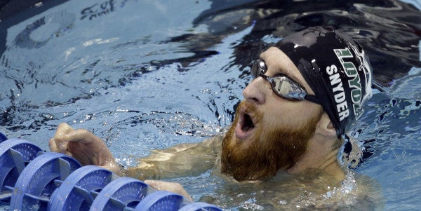 This EOD Tech Was Blinded By A Landmine. Now He's One Of The Best Swimmers In The World